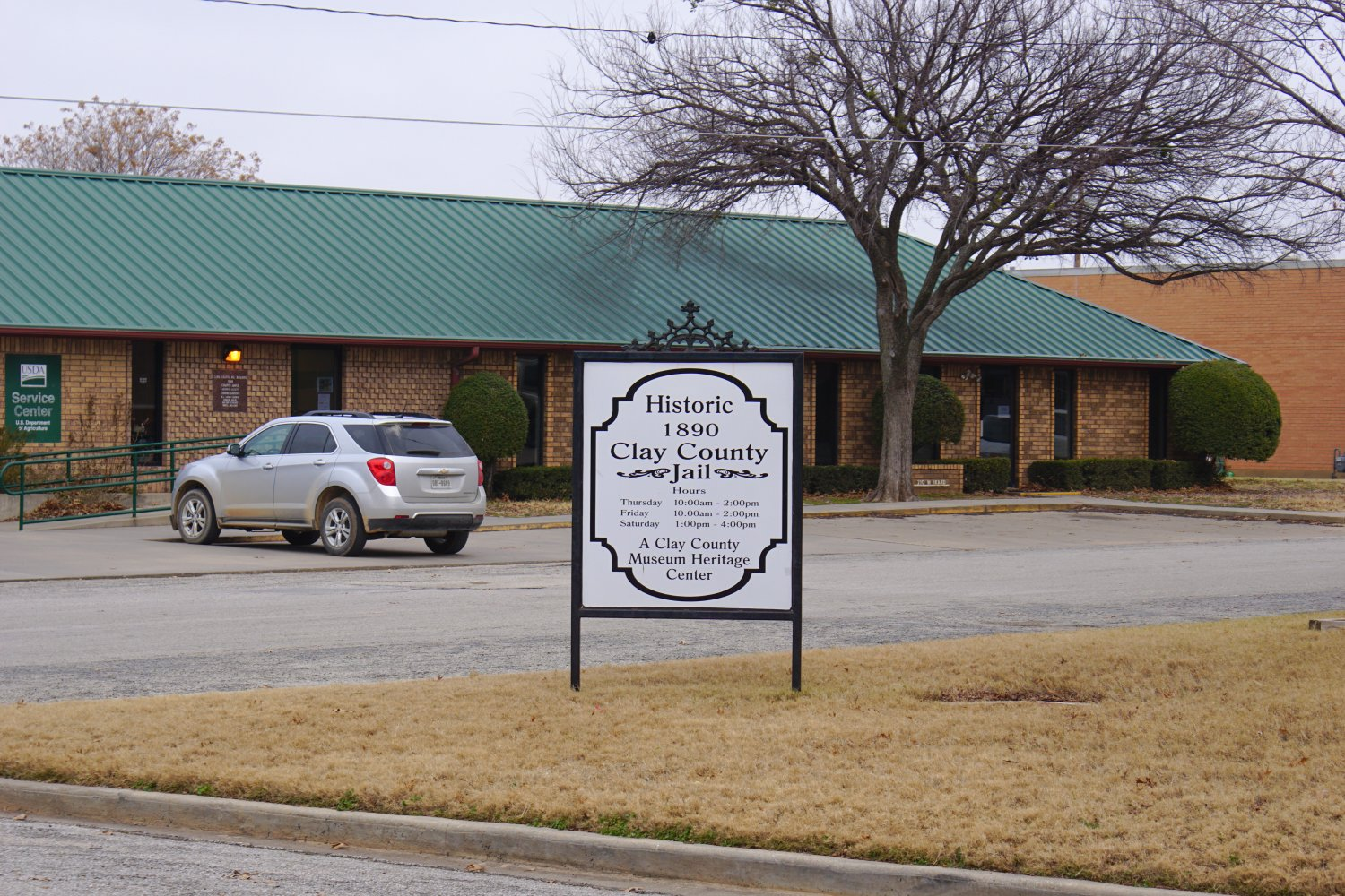 Historic Clay County Jail | Texas County Courthouses